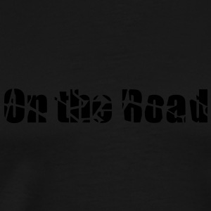 On the road hoodie femme - T-shirt Premium Homme