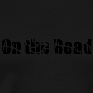 On the road t-shirt manches longues femme - T-shirt Premium Homme