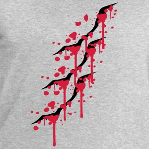 3 scratch wounds cracks knife T-Shirts - Men's Sweatshirt by Stanley & Stella