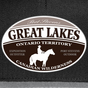 Great Lakes T-skjorter - Snapback-caps
