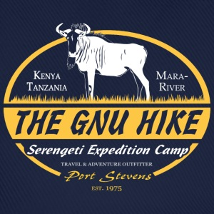 The Gnu Hike T-shirts - Baseballcap