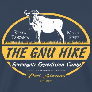 The Gnu Hike Long sleeve shirts - Men's Premium T-Shirt