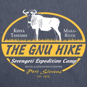 The Gnu Hike Long Sleeve Shirts - Shoulder Bag made from recycled material