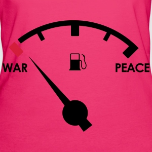 War & Peace - Frauen Bio-T-Shirt