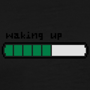 Waking up retrogaming - Camiseta premium hombre