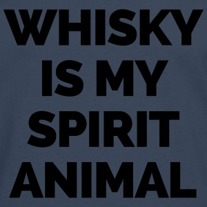 Whisky Is My Spirit Animal  Pullover & Hoodies - Männer Premium Langarmshirt