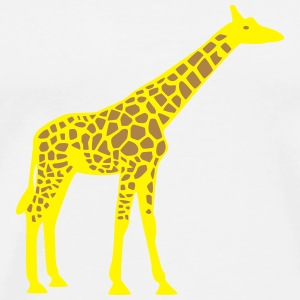 Giraffe Bottles & Mugs - Men's Premium T-Shirt