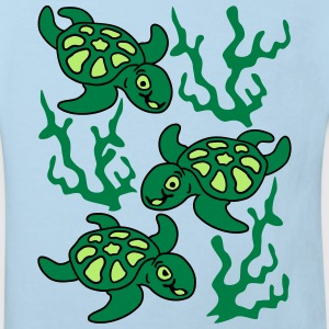 Turtles and Seaweed Sweats - T-shirt Bio Enfant
