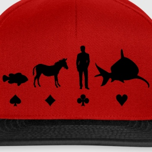 Evolution Poker T-skjorter - Snapback-caps