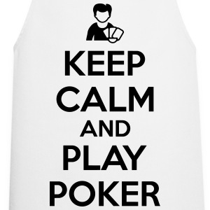 Keep calm and play poker T-shirts - Keukenschort