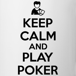 Keep calm and play poker Koszulki - Kubek
