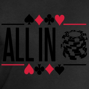 Poker: All in T-Shirts - Men's Sweatshirt by Stanley & Stella