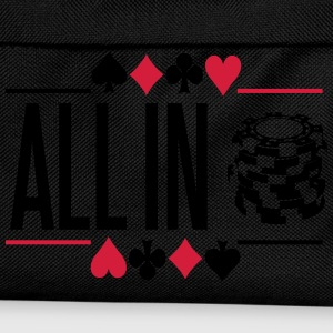 Poker: All in Tee shirts - Sac à dos Enfant