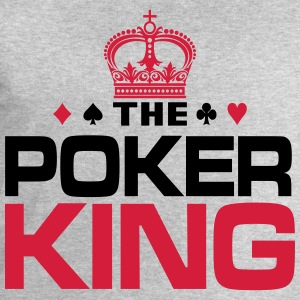 Poker King T-Shirts - Men's Sweatshirt by Stanley & Stella