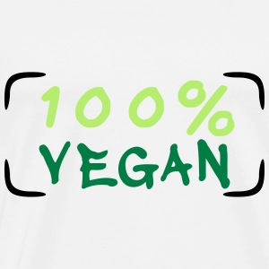 100 percent Vegan Hoodies - Men's Premium T-Shirt