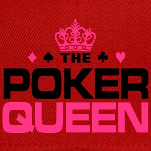 Poker Queen Tee shirts - Casquette snapback