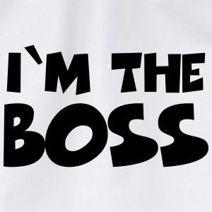 I'm the Boss Kopper & flasker - Gymbag