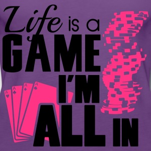 Life is a game and I'm all in Tee shirts - Débardeur Premium Femme