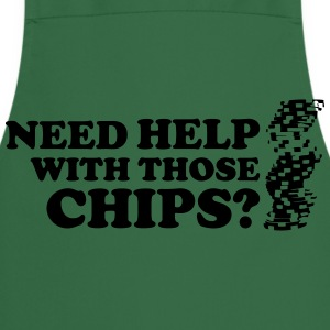 Poker: Need help with those chips? T-shirts - Förkläde