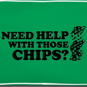 Poker: Need help with those chips? T-Shirts - Retro Bag