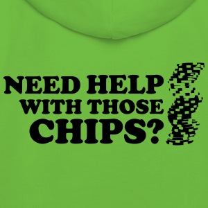 Poker: Need help with those chips? T-Shirts - Kids' Premium Hoodie