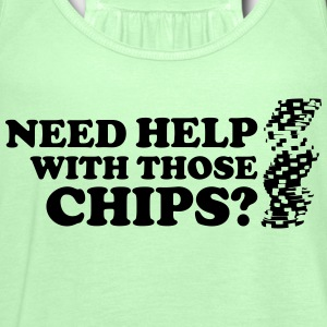 Poker: Need help with those chips? T-shirts - Vrouwen tank top van Bella