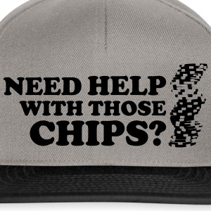 Poker: Need help with those chips? T-shirts - Snapback Cap