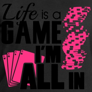 Life is a game and I'm all in T-shirts - Sweatshirt herr från Stanley & Stella