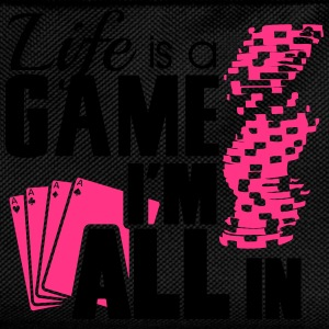 Life is a game and I'm all in T-Shirts - Kids' Backpack