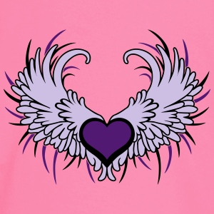 Heart with Wings T-shirts - Långärmad T-shirt baby