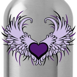 Heart with Wings T-shirts - Vattenflaska