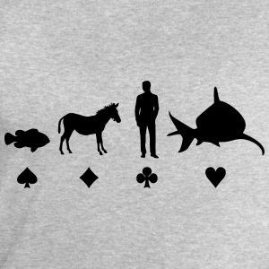 Evolution Poker T-Shirts - Men's Sweatshirt by Stanley & Stella
