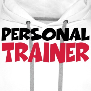Personal Trainer T-Shirts - Men's Premium Hoodie