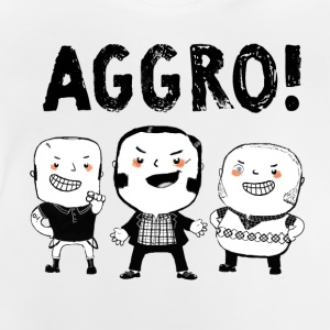 AGGRO Boys don't fear! Long Sleeve Shirts - Baby T-Shirt