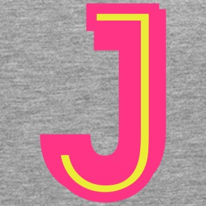 J neon pink yellow T-Shirts - Men's Premium Longsleeve Shirt