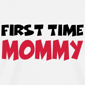 First time Mommy Manches longues - T-shirt Premium Homme