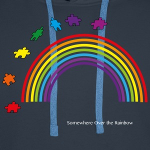Somewhere Over the Rainbow - Men's Premium Hoodie