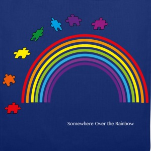 Somewhere Over the Rainbow - Tote Bag