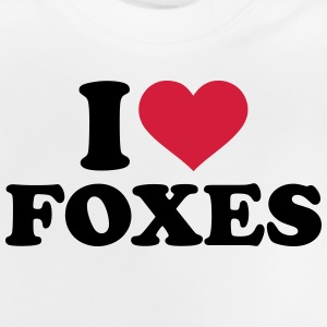 I love Foxes T-Shirts - Baby T-Shirt