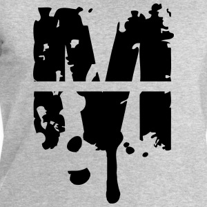 M graffiti stamp drops T-Shirts - Men's Sweatshirt by Stanley & Stella