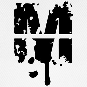 M graffiti stamp drops T-Shirts - Baseball Cap