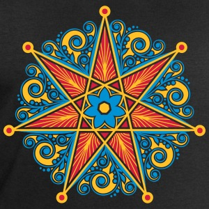 Elven Star, Perfection & Protection, Heptagram,  T-Shirts - Men's Sweatshirt by Stanley & Stella