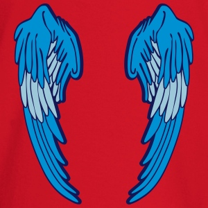 Angel Wings Feather T-shirts - Långärmad T-shirt baby