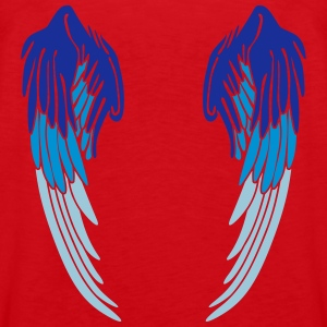Angel Wings Feather Magliette - Canotta premium da uomo