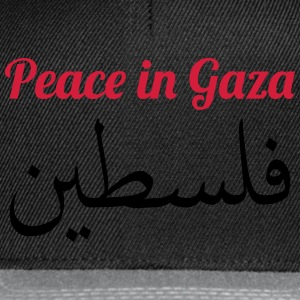 Peace in Gaza Shirts - Snapback Cap