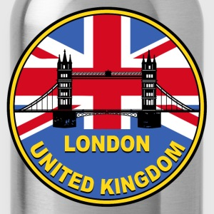 london - united kingdom Shirts - Water Bottle