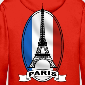 paris france Tee shirts - Sweat-shirt à capuche Premium pour hommes