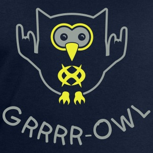 Growling owl Shirts - Men's Sweatshirt by Stanley & Stella