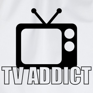 TV Addict T-Shirts - Turnbeutel
