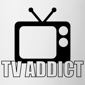 TV Addict T-Shirts - Tasse